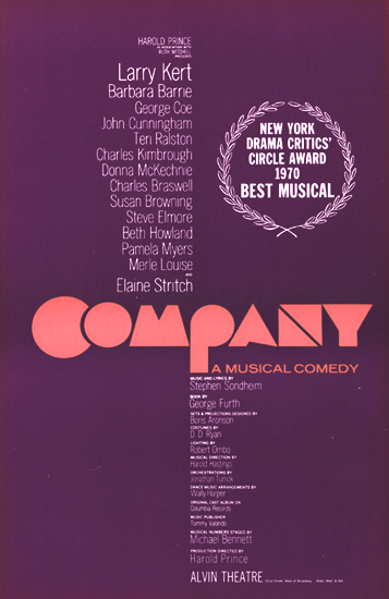 COMPANY Original Cast Album
