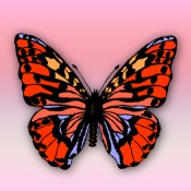 Butterfly symbolizes the shape of the thyroid gland